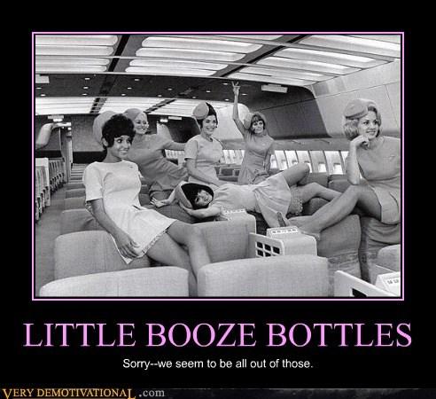 booze bottles drunk hilarious stewardess - 6473905408