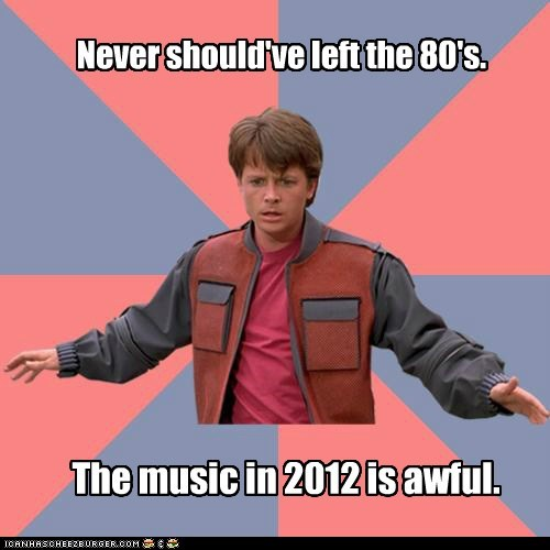80s marty mcfly Memes Music - 6474088448