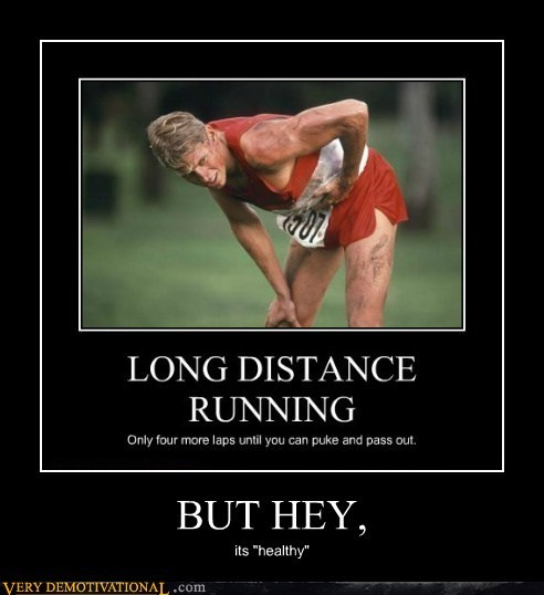 healthy,hilarious,long distance running