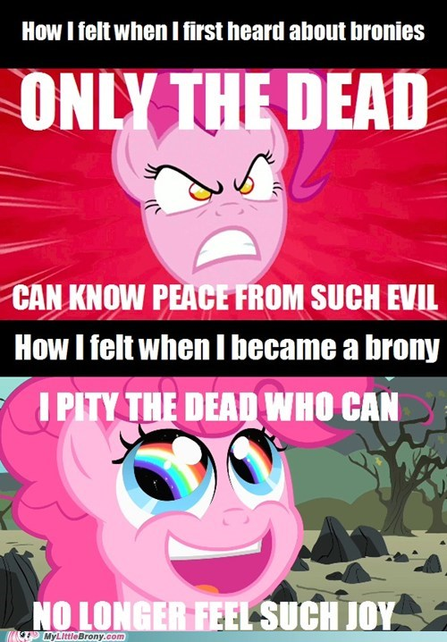 brony dead hater pinkie pie smile the internets - 6474155264