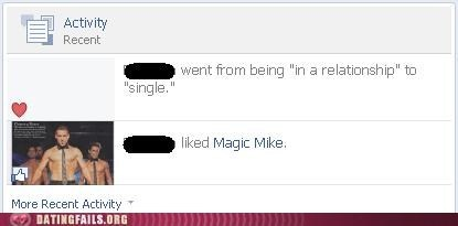 magic mike,relationship status,taking over