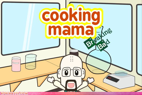 amc breaking bad cooking mama food funny game TV