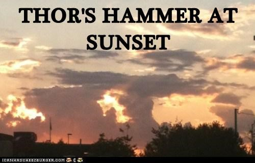 THOR'S HAMMER AT SUNSET