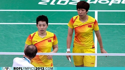 badminton,China,drama,indonesia,London 2012,olympics,south korea