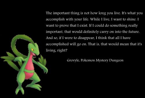 best of week deep deep. grovyle mystery dungeon quote the internets deep. - 6475118592