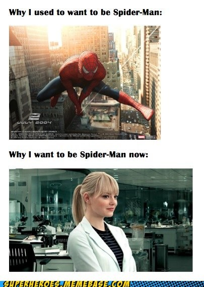 emma stone Sexy Ladies Spider-Man Super-Lols