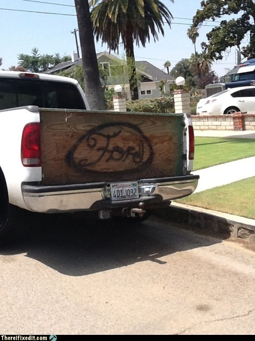 ford ford tailgate pickup tailgate truck bed wooden tailgate - 6475491584