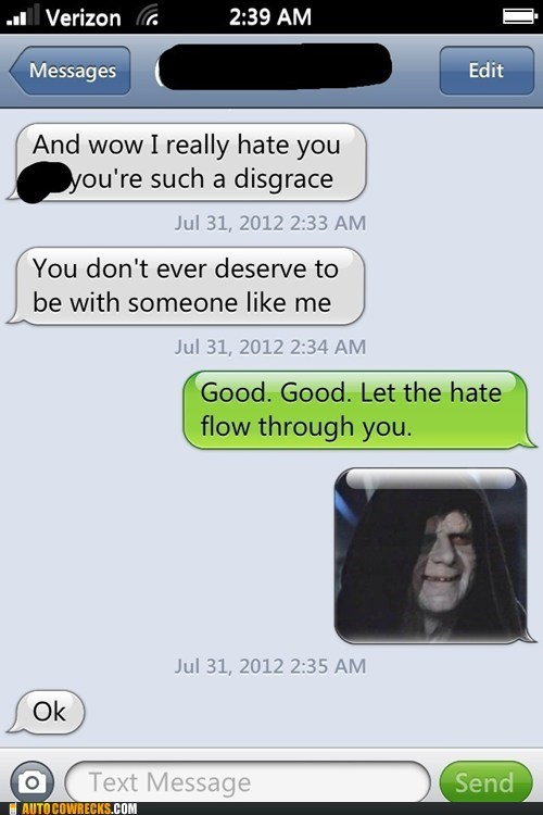 disgrace let the hate flow palpatine - 6475505664