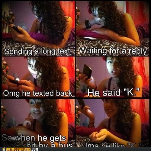 k omg lol reply sending a long text
