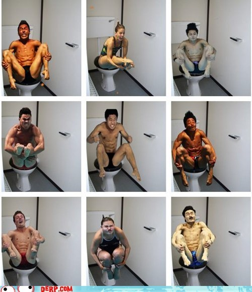 best of week derp Ermahgerd olympics Sportderps toilets - 6475659008