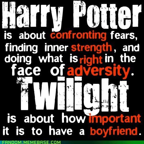 Fan Art Harry Potter relationships twilight - 6475750144