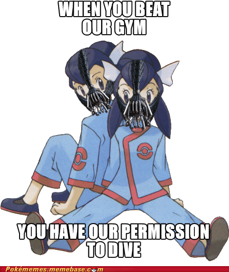 bane,dive,gym leaders,Memes,permission to die