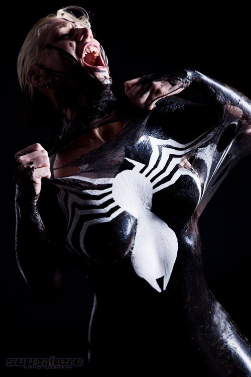 cosplay,she-venom,Spider-Man,Venom
