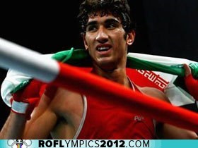 boxing disqualified drama iran London 2012 olympics - 6475943680