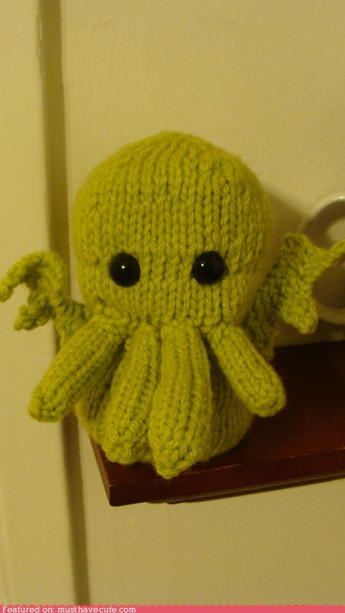 cthulhu,elder god,Knitted,madness