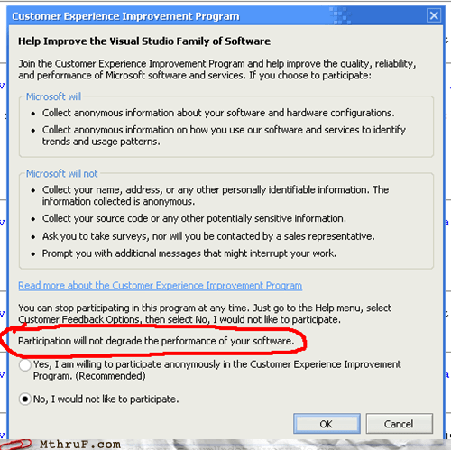 participation pop up software survey windows