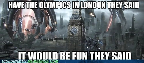 London,mass effect,meme,Multiplayer,olympics,They Said