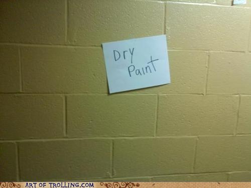 dry IRL paint wall - 6476352512