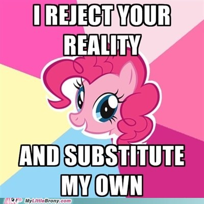 meme pinkie pie reality - 6476574464