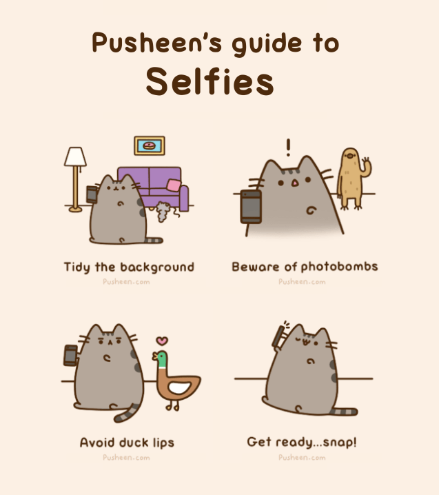 pusheen life life guides Cats web comics - 6477061