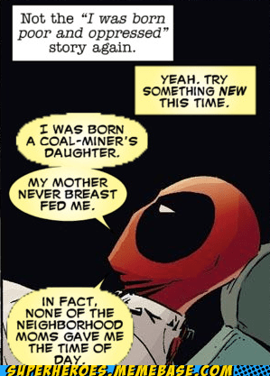 deadpool story Straight off the Straight off the Page - 6477556224