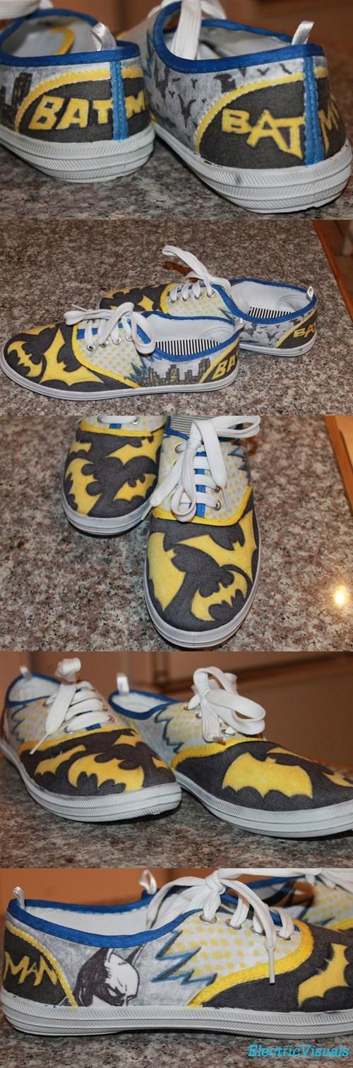 accessories,batman,comics,DC,shoes