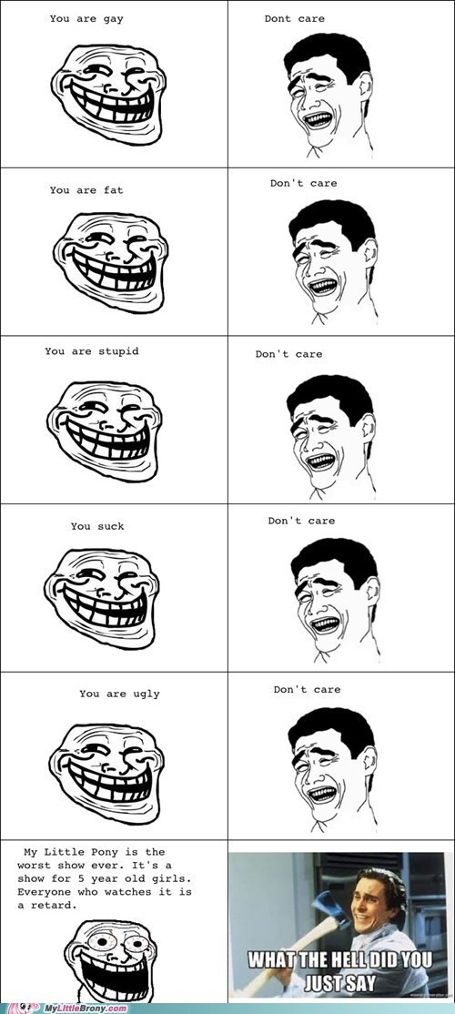 brony dont-care rage rage comic Rage Comics - 6477994752
