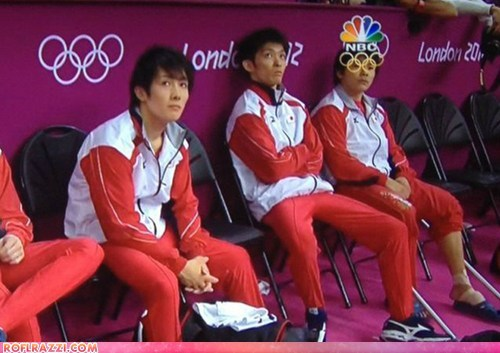 funny celebrity pictures glasses gymnastics Japan olympics - 6478112000