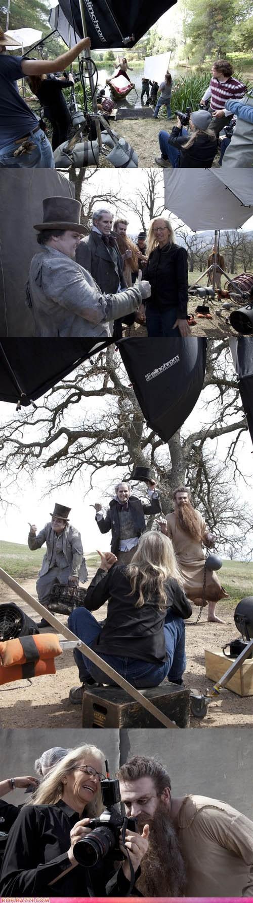 actor Annie Leibovitz celeb disney funny jack black jason segel Russell Brand Will Ferrell - 6478114048