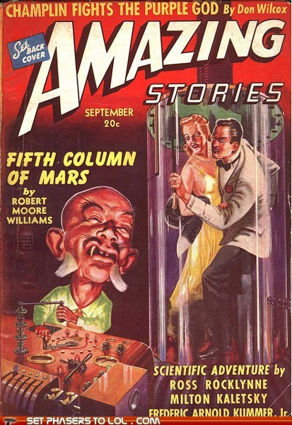 amazing stories,book covers,books,caricature,cover art,magazine,racism,wtf