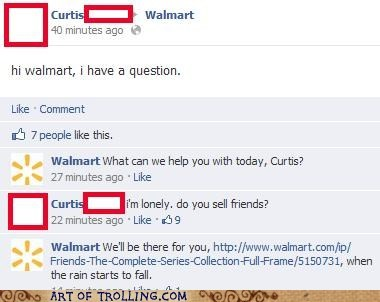 forever alone friends shoppers beware Walmart - 6478310400