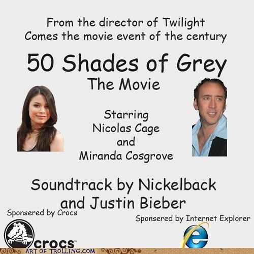 50 shades of grey,comic sans,justin bieber,movies,nickelback,twilight