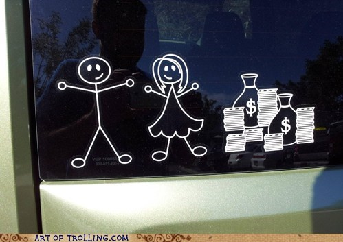 Babies car IRL relationships stickers - 6478345472