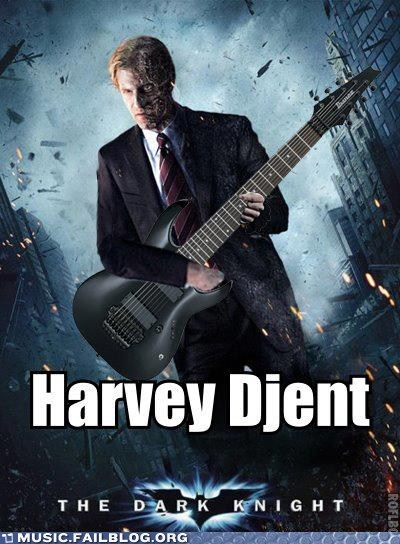 batman djent harvey dent pun the dark knight - 6478346496