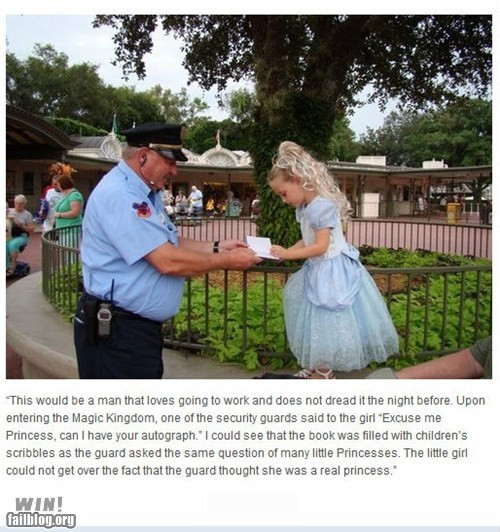 best of week dawww disneyland Hall of Fame princess Random Acts Of Kindness work