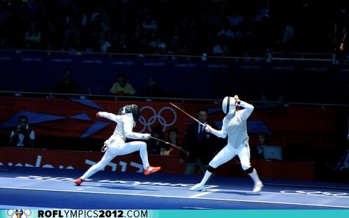 Fencing gold Italy London 2012 olympics russia