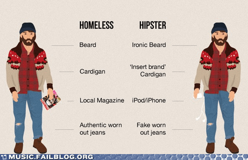 g rated,hipster,homeless,ipod,Music FAILS