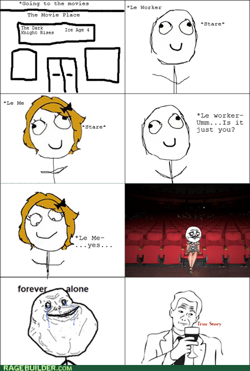 forever alone movies not sure if gusta Rage Comics - 6478482944