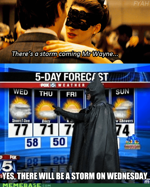 batman dark knight Super-Lols weatherman - 6478562304
