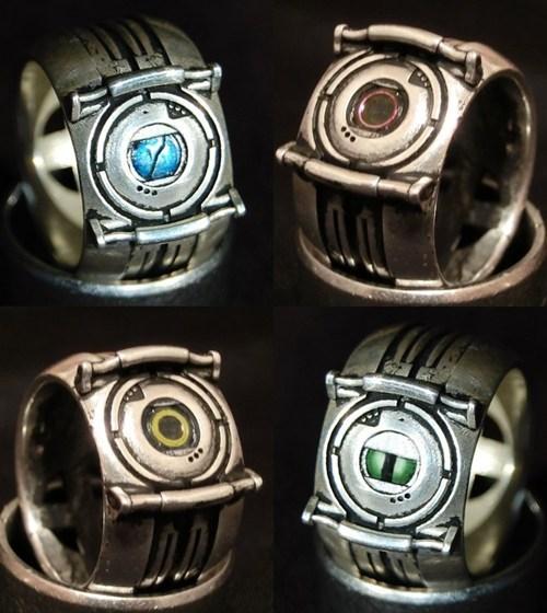 accessories Fan Art Portal ring video games - 6478602240