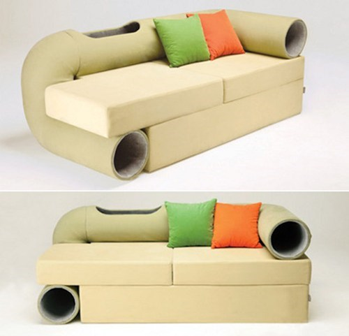 cat lover couch,so this exists