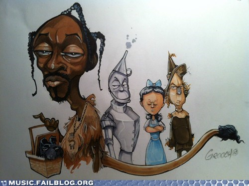 snoop dogg snoop lion the wizard of oz wizard of oz - 6478672896
