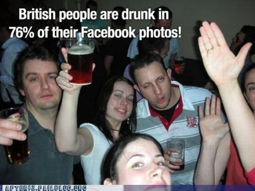 britain,british people,drunk facebook photos,facebook,facebook photos