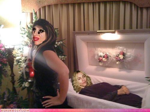 celeb fake funny lady gaga Madonna Music pop shoop - 6478852864
