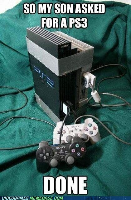 console do it yourself IRL playstation ps3 tape
