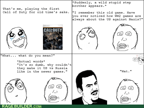derp germans Rage Comics video games ww2 - 6478946560
