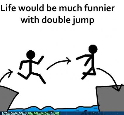 awesome double jump funnier the internets - 6478983680