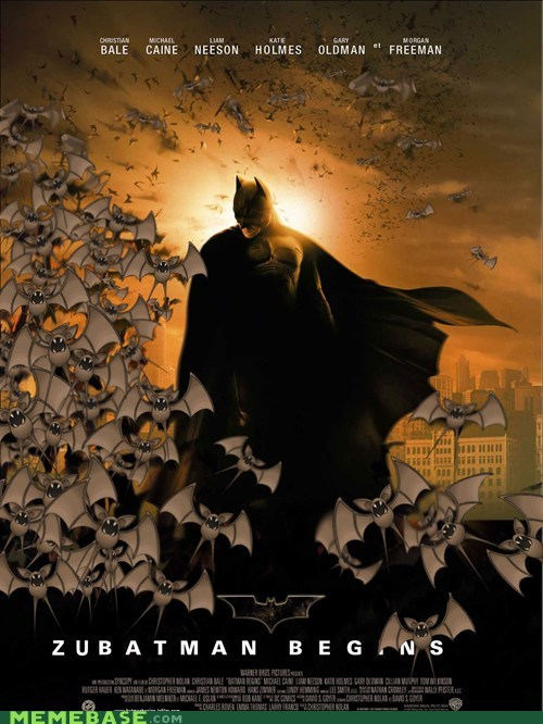 batman,batman begins,best of week,crossover,zubat,zubatman