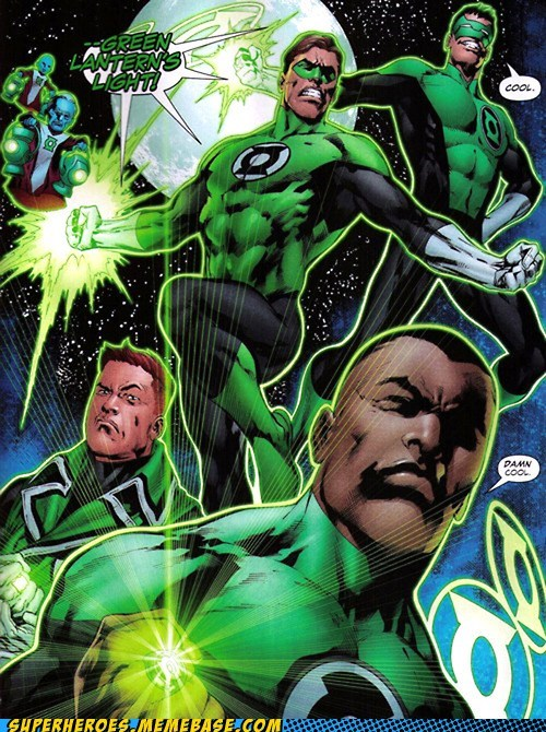 cool,Green lantern,guy gardner,hal jordon,john stewart,kyle,Straight off the,Straight off the Page