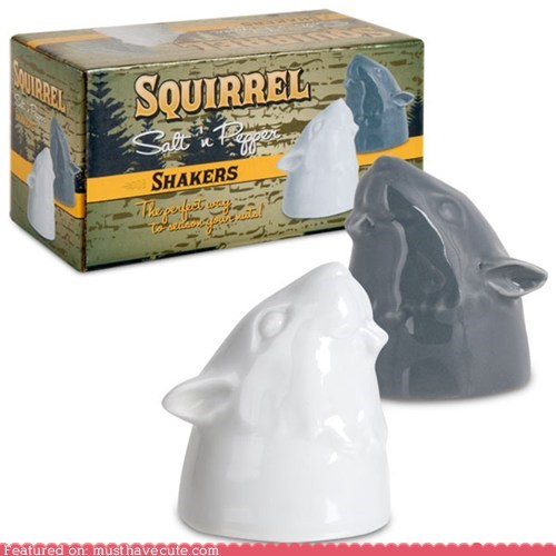 heads salt and pepper seasoning squirrels - 6479946240